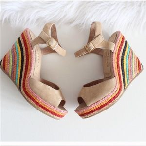 Pal omit as Rainbow Wedges by Paloma Barcelona